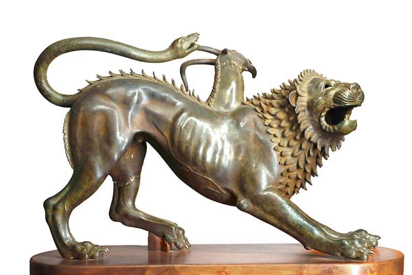 MAF Museo Archeologico Nazionale di Firenze – La chimera di Arezzo
