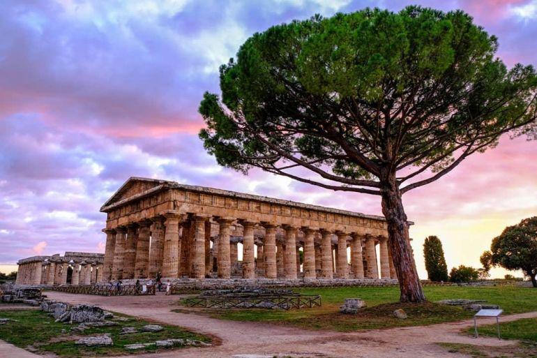 CILENTO e suo Parco Nazionale, Vallo di Diano con i Siti Archeologici di Paestum e Velia e la Certosa di Padula