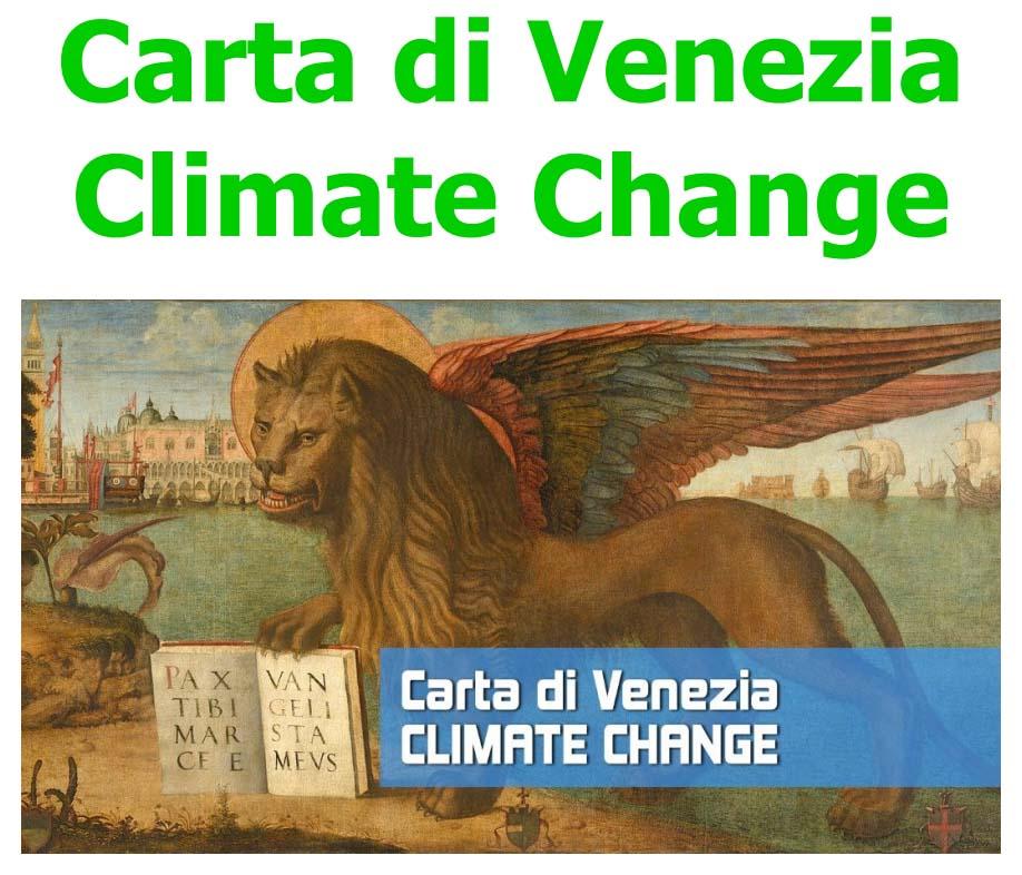 Carta di Venezia Climate Change