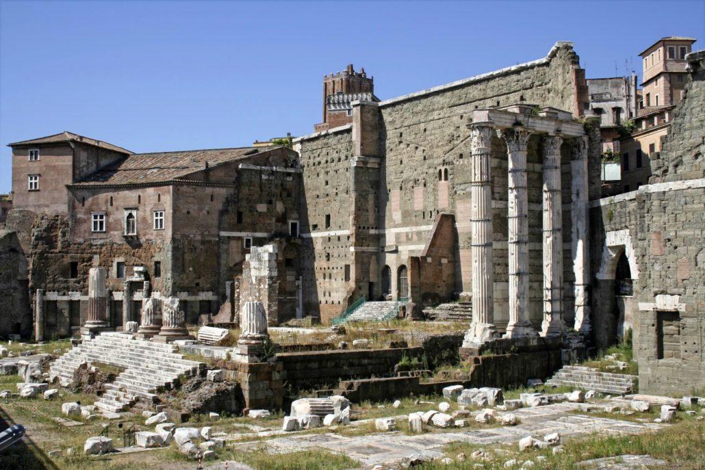 ROMA, Architettura romana<br> Tempio di Marte Ultore