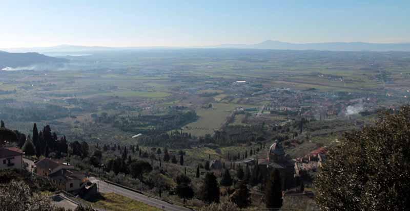 Paesaggio storico della Bonifica Leopoldina in Valdichiana